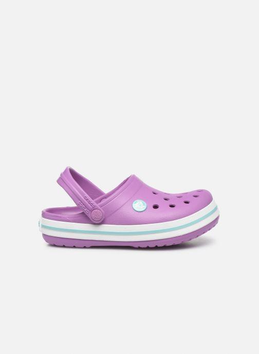 Sandalen Crocs Crocband kids lila ansicht von hinten