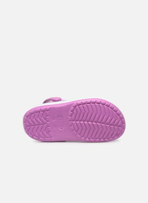 Sandalen Crocs Crocband kids lila ansicht von oben