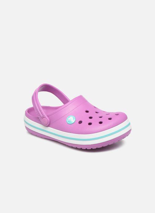 Sandalen Crocs Crocband kids lila detaillierte ansicht/modell