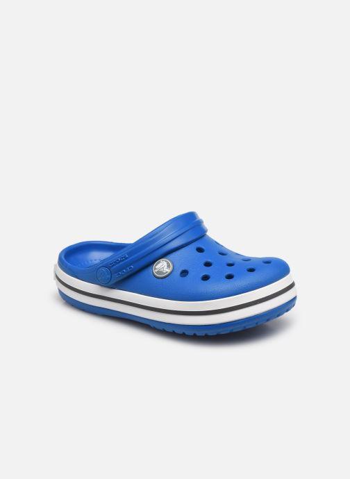 Sandales et nu-pieds Crocs Crocband Clog K Bleu vue détail/paire