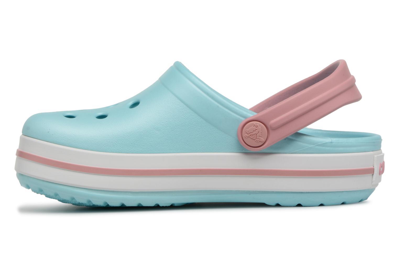 Sandaler Crocs Crocband kids Blå bild från framsidan