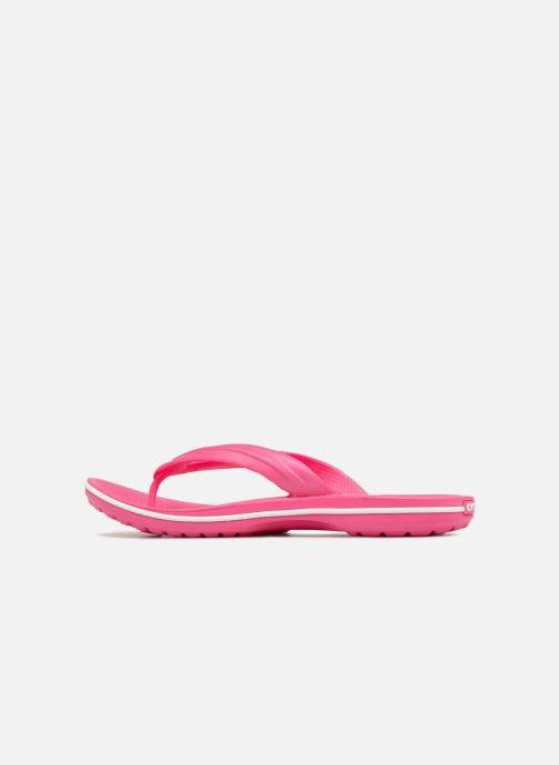 Infradito Crocs Crocband Flip W Rosa immagine frontale