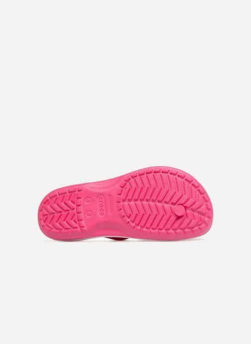Infradito Crocs Crocband Flip W Rosa immagine dall'alto