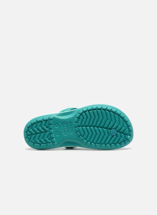 Infradito Crocs Crocband Flip W Verde immagine dall'alto