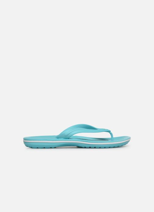 Zehensandalen Crocs Crocband Flip W blau ansicht von hinten