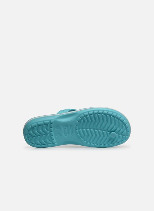 Infradito Crocs Crocband Flip W Azzurro immagine dall'alto