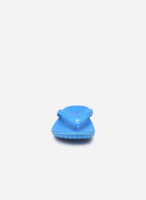 Chanclas Crocs Crocband Flip W Azul vista del modelo