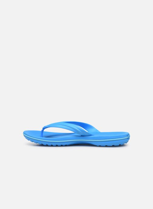 Tongs Crocs Crocband Flip W Bleu vue face