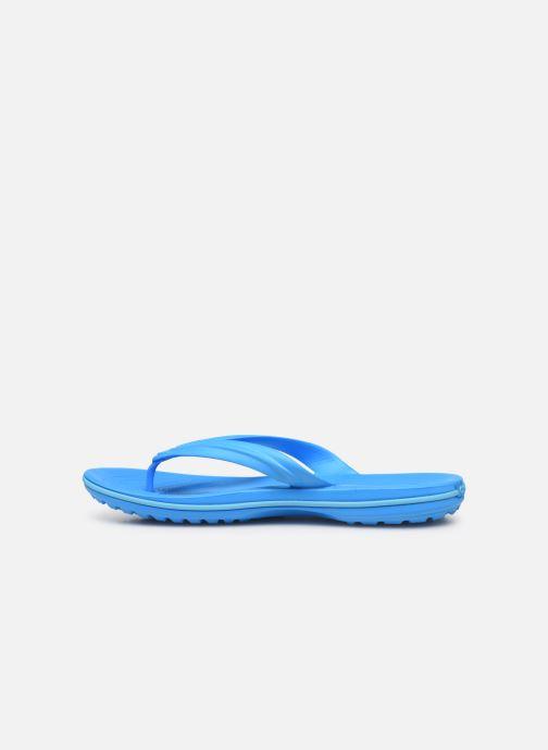 Chanclas Crocs Crocband Flip W Azul vista de frente