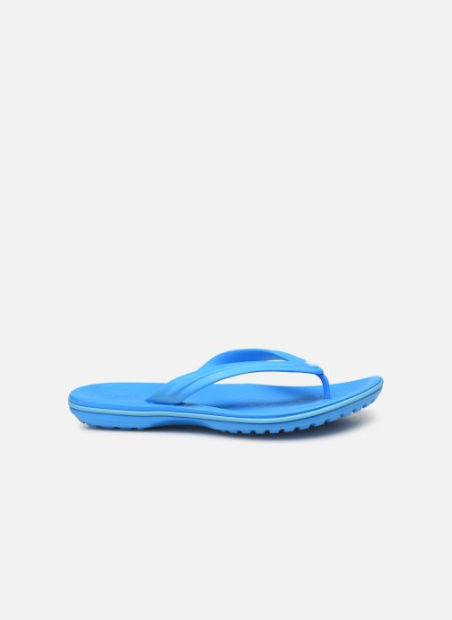 Tongs Crocs Crocband Flip W Bleu vue derrière