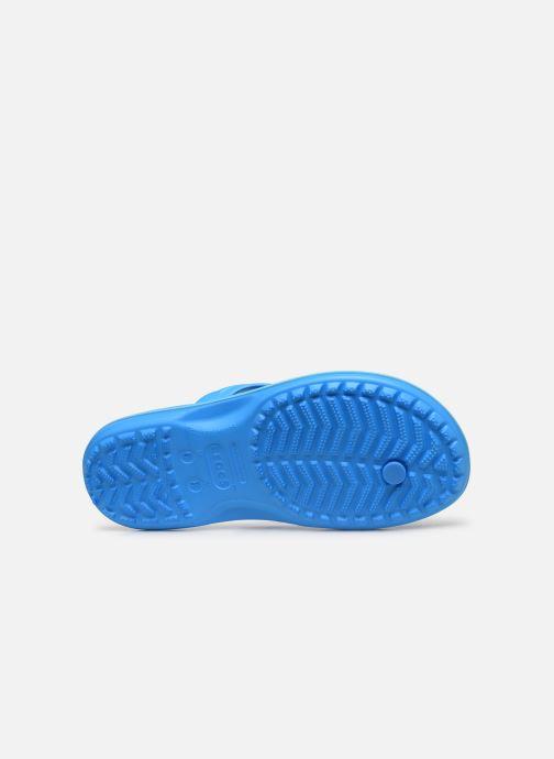Chanclas Crocs Crocband Flip W Azul vista de arriba