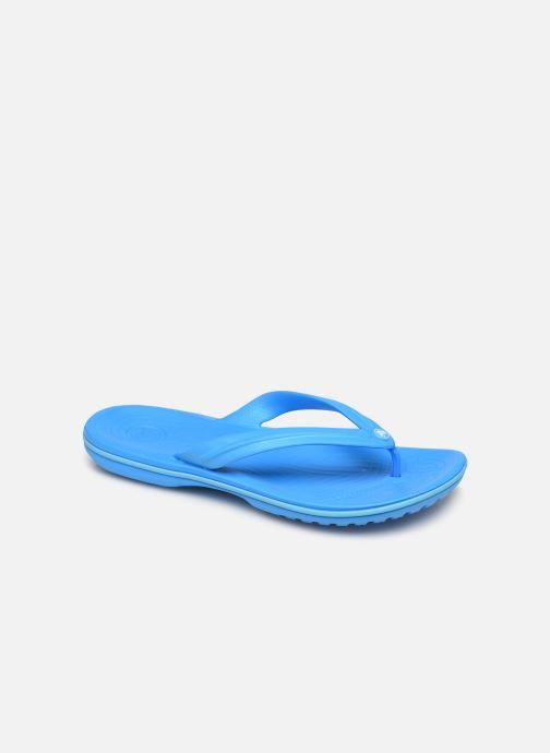 Chanclas Crocs Crocband Flip W Azul vista de detalle / par