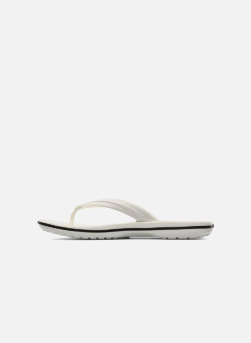 Infradito Crocs Crocband Flip W Bianco immagine frontale