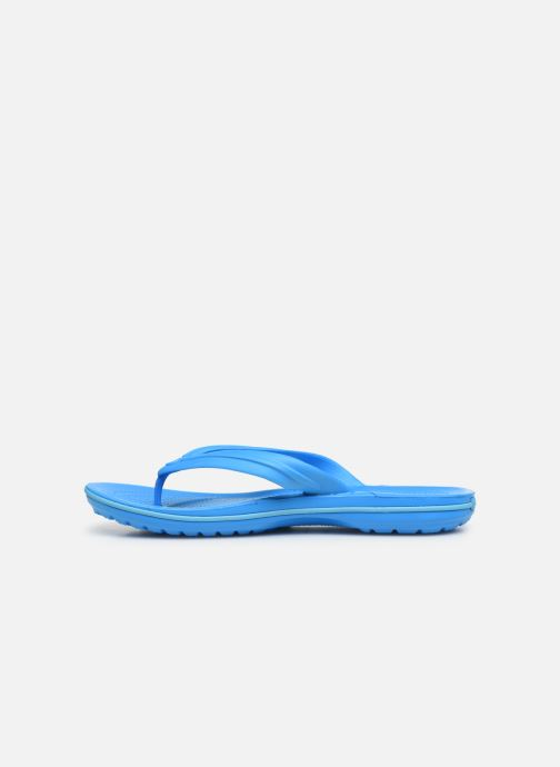 Tongs Crocs Crocband Flip M Bleu vue face