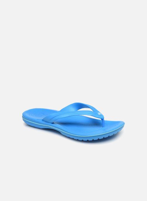 Zehensandalen Crocs Crocband Flip M blau detaillierte ansicht/modell