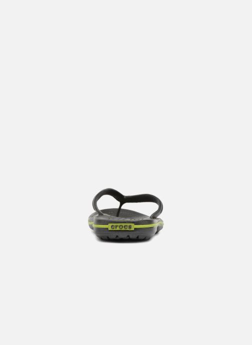 Zehensandalen Crocs Crocband Flip M grau ansicht von rechts
