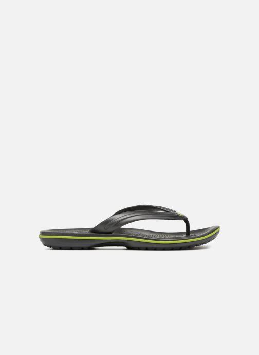 Zehensandalen Crocs Crocband Flip M grau ansicht von hinten