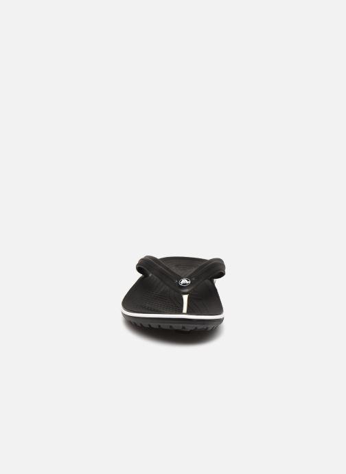 Infradito Crocs Crocband Flip M Nero modello indossato