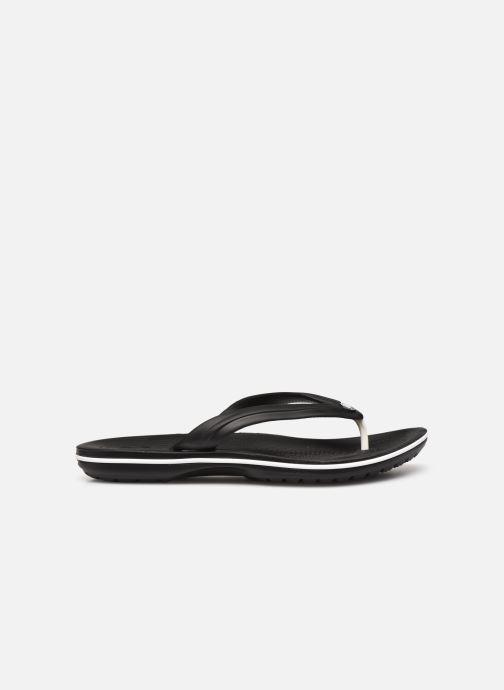 Zehensandalen Crocs Crocband Flip M schwarz ansicht von hinten