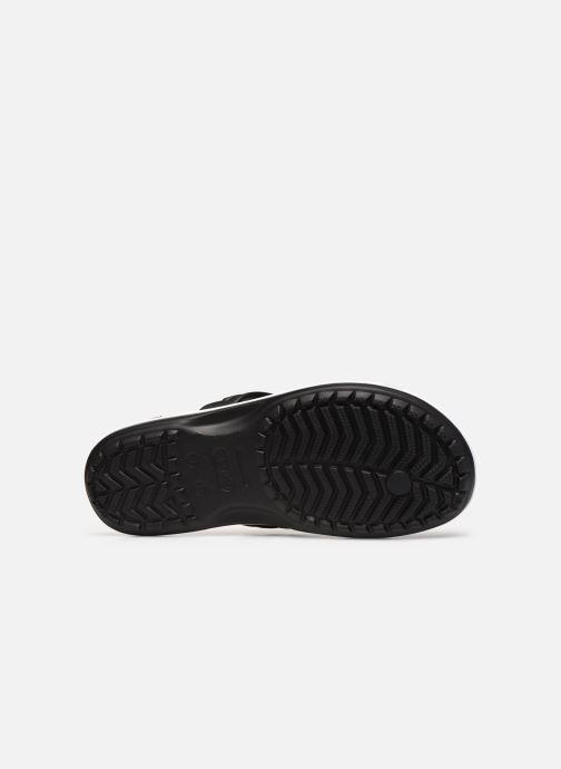 Infradito Crocs Crocband Flip M Nero immagine dall'alto