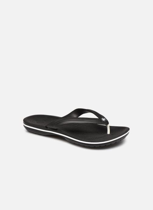 Chanclas Crocs Crocband Flip M Negro vista de detalle / par