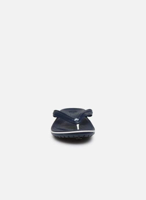 Chanclas Crocs Crocband Flip M Azul vista del modelo