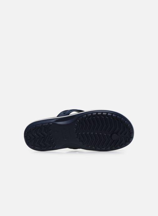 Tongs Crocs Crocband Flip M Bleu vue haut