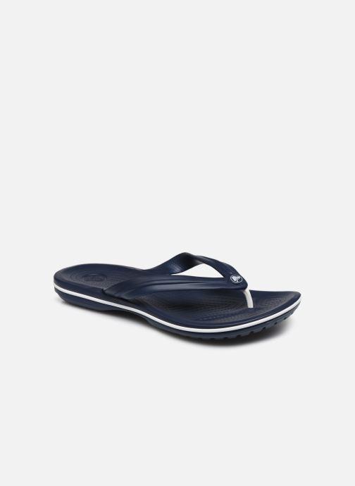 Tongs Crocs Crocband Flip M Bleu vue détail/paire