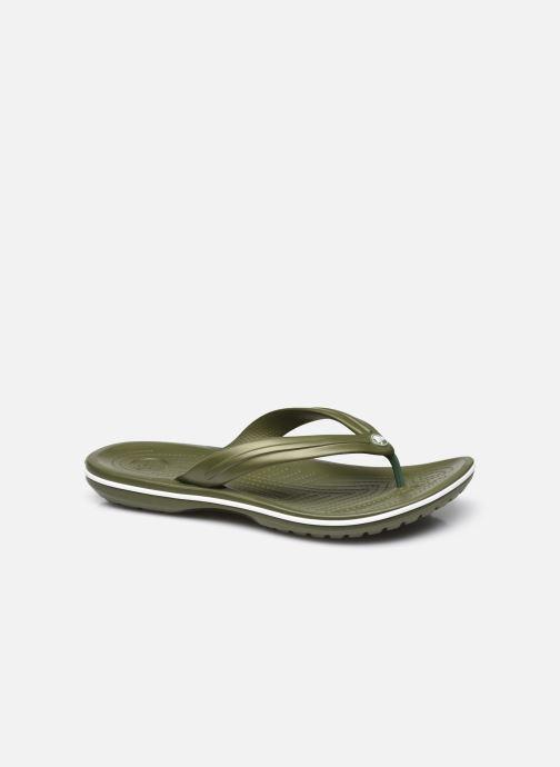 Slippers Crocs Crocband Flip M Groen detail