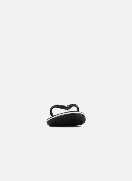 Tongs Crocs Crocband Flip M Noir vue portées chaussures