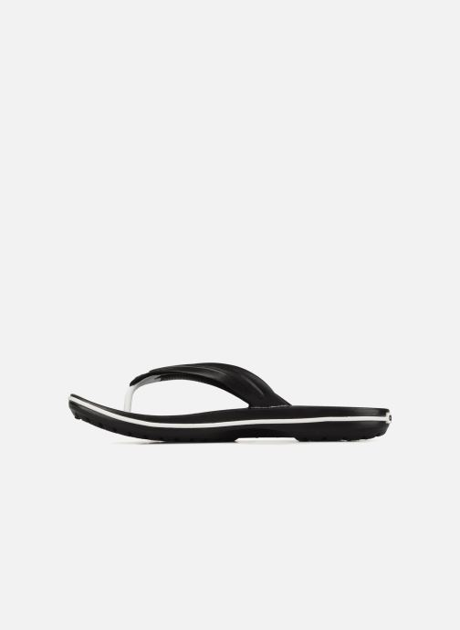 Tongs Crocs Crocband Flip M Noir vue face