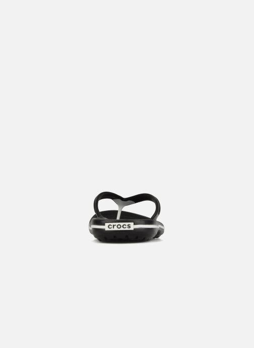 Zehensandalen Crocs Crocband Flip M schwarz ansicht von rechts