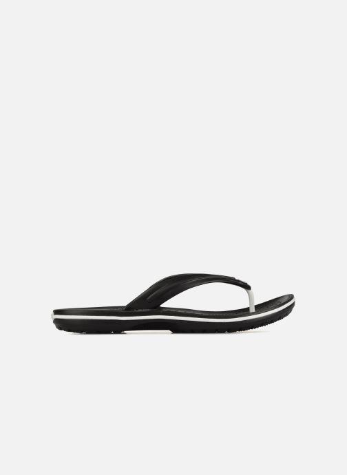 Tongs Crocs Crocband Flip M Noir vue derrière