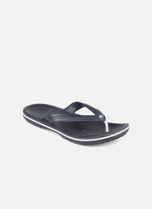Chanclas Crocs Crocband Flip M Azul vista de detalle / par