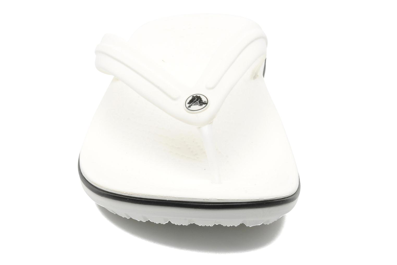 Flip flops Crocs Crocband Flip M White model view