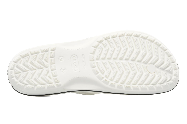 Flip flops Crocs Crocband Flip M White view from above