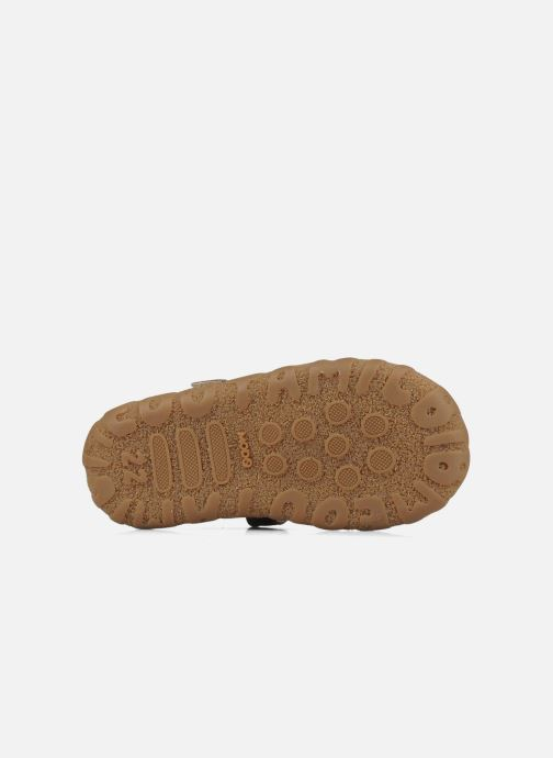 Sandales et nu-pieds Mod8 Batofar Marron vue haut