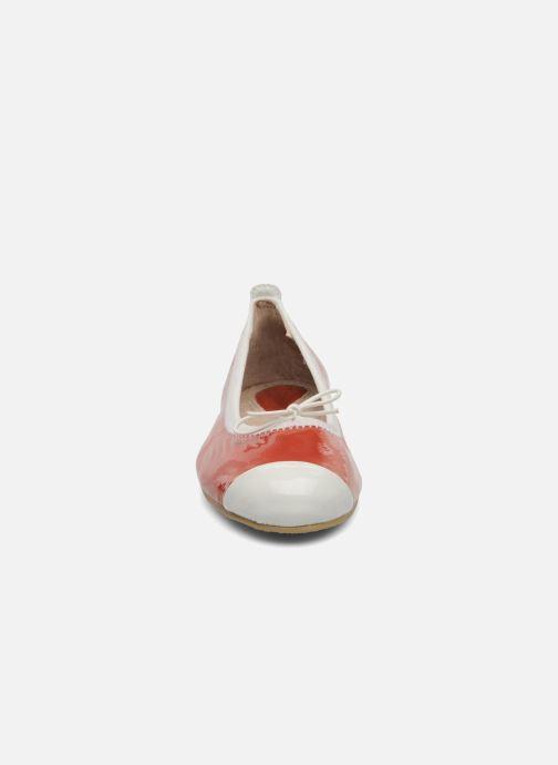 Ballerinas Bloch Girls luxury rot schuhe getragen