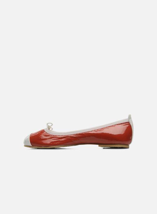 Ballerinas Bloch Girls luxury rot ansicht von vorne