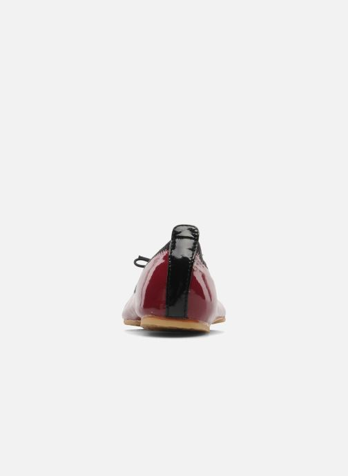 Ballerines Bloch Girls luxury Bordeaux vue droite