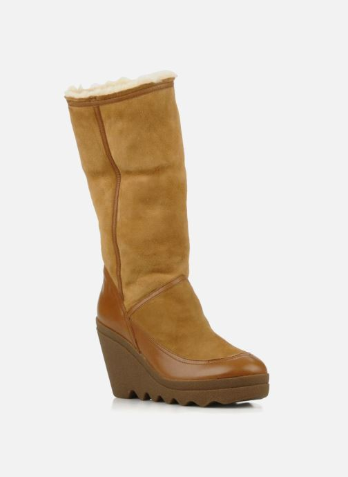 Bottines et boots Ash Varuska Marron vue 3/4