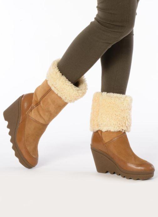 Bottines et boots Ash Varuska Marron vue bas / vue portée sac