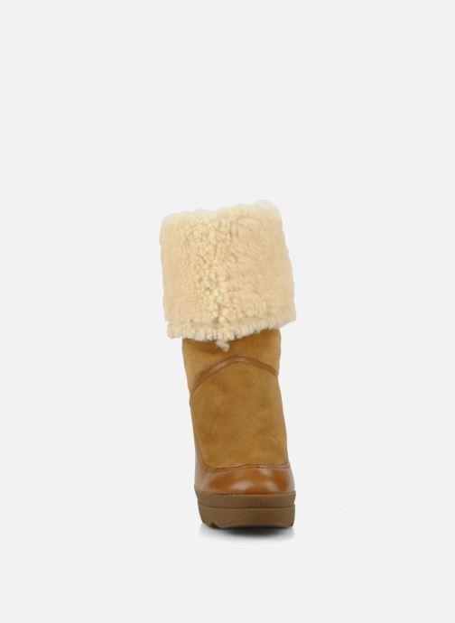 Bottines et boots Ash Varuska Marron vue portées chaussures