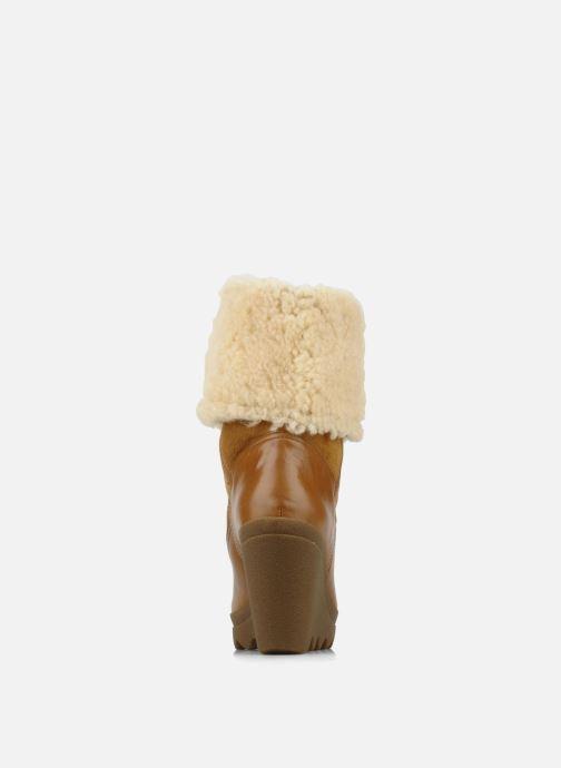 Bottines et boots Ash Varuska Marron vue droite