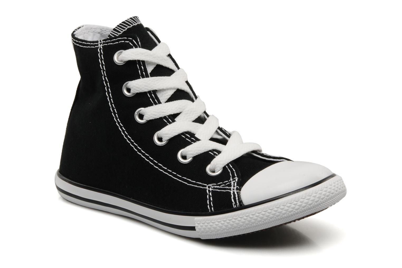 7a600e2ed7d7fa ... reduced baskets converse chuck taylor all star slim canvas hi k noir vue  détail paire 103c8