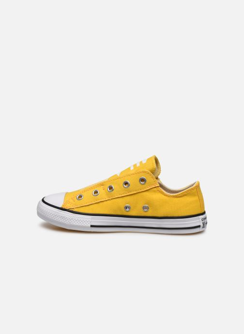 Baskets Converse Chuck Taylor All Star Slip On Ox K Jaune vue face
