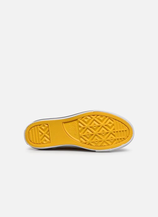 Baskets Converse Chuck Taylor All Star Slip On Ox K Jaune vue haut