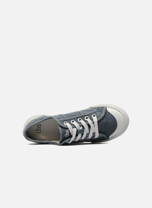 Trainers TBS Opiace Grey view from the left