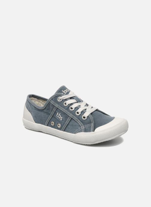 Sneakers TBS Opiace Grijs detail