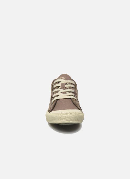 Baskets TBS Opiace Marron vue portées chaussures